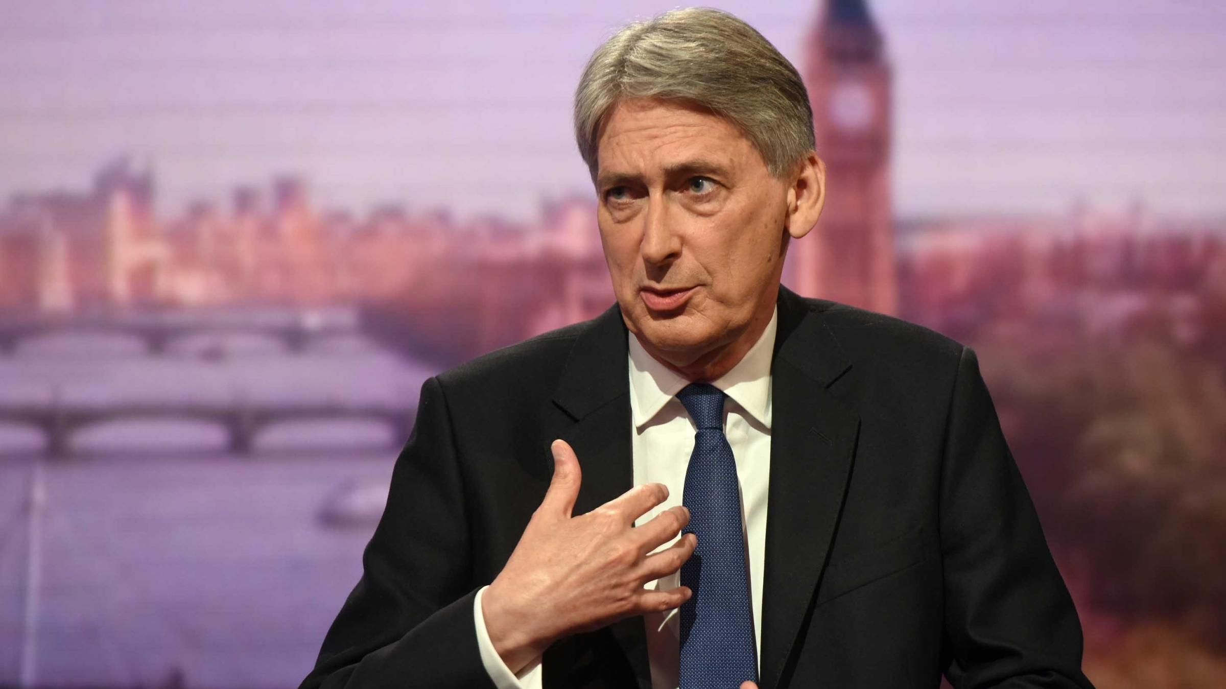 Boris Johnson looks for
