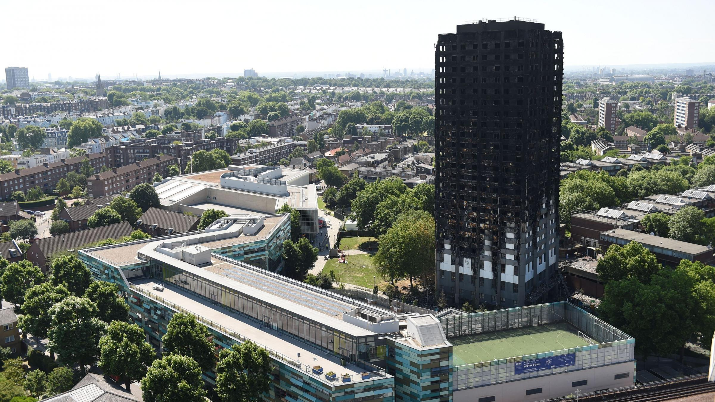 London Tower Block Fire Death Toll Rises to 58